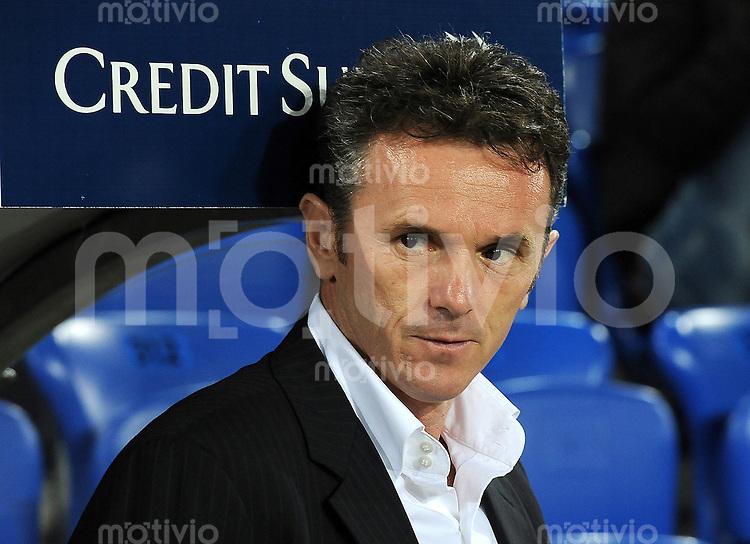 FUSSBALL INTERNATIONAL  EM 2012-Qualifikation  Gruppe G   11.10.2011 Schweiz - Montenegro Trainer Branko BRNOVIC  (Montenegro)