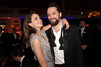 BEVERLY HILLS - JANUARY 6: (L-R) Keri Russell and Matthew Rhys attend the 2019 Fox Nominee Party for the 76th Annual Golden Globe Awards at the Fox Terrace on the Roof Deck of the Beverly Hilton on January 6, 2019, in Beverly Hills, California. (Photo by Frank Micelotta/Fox/PictureGroup)