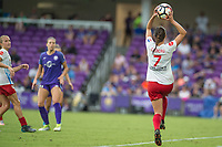 Orlando, FL - Saturday July 01, 2017: Taylor Comeau during a regular season National Women's Soccer League (NWSL) match between the Orlando Pride and the Chicago Red Stars at Orlando City Stadium.