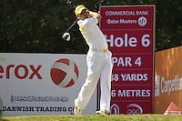 Sergio Garcia (ESP) tees off the 6th tee during Friday's Round 3 of the Commercial Bank Qatar Masters 2013 at Doha Golf Club, Doha, Qatar 25th January 2013 .Photo Eoin Clarke/www.golffile.ie