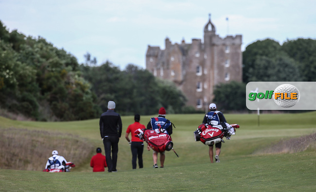 Heading to the 4th green during Round One of the 2016 Aberdeen Asset Management Scottish Open, played at Castle Stuart Golf Club, Inverness, Scotland. 07/07/2016. Picture: David Lloyd | Golffile.<br /> <br /> All photos usage must carry mandatory copyright credit (&copy; Golffile | David Lloyd)
