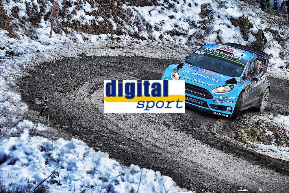 Mads Ostberg (NOR) / Ola Floene (NOR)- Ford Fiesta WRC