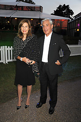 SIMON & JOYCE REUBEN at the Royal Parks Foundation Summer Party hosted by Candy & Candy on the banks of the Serpentine, Hyde Park, London on 10th September 2008.