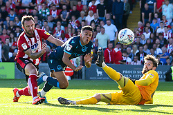 Tyler Smith of Bristol Rovers shoots at goal - Mandatory by-line: Robbie Stephenson/JMP - 14/09/2019 - FOOTBALL - Sincil Bank Stadium - Lincoln, England - Lincoln City v Bristol Rovers - Sky Bet League One