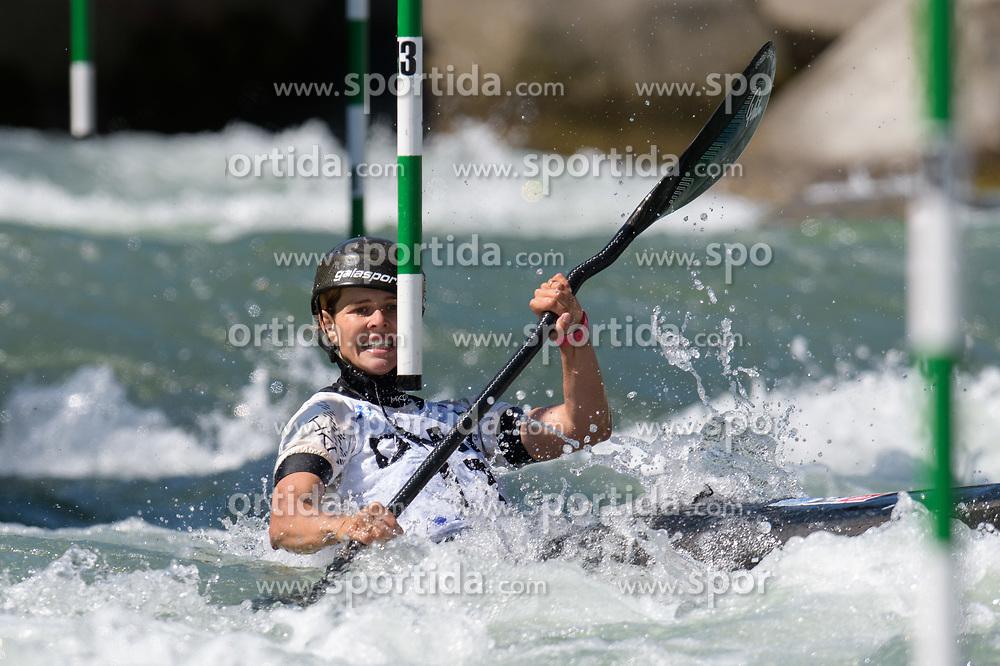 Martina WEGMAN of  Netherlands during the Canoe Single (WK1) Womens Semi Final race of 2019 ICF Canoe Slalom World Cup 4, on June 28, 2019 in Tacen, Ljubljana, Slovenia. Photo by Sasa Pahic Szabo / Sportida