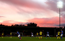 Match action under a dramatic sky over the Pirelli Stadium as Burton Albion take on Birmingham City in The Sky Bet Championship - Mandatory by-line: Robbie Stephenson/JMP - 18/08/2017 - FOOTBALL - Pirelli Stadium - Burton upon Trent, England - Burton Albion v Birmingham City - Sky Bet Championship