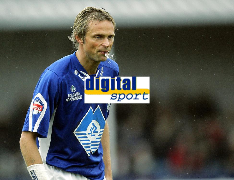 Fotball<br /> Adeccoligaen<br /> 22.10.2006<br /> H&oslash;nefoss v H&oslash;dd 3-0<br /> Foto: Morten Olsen, Digitalsport<br /> <br /> Andre Nevstad - H&oslash;dd