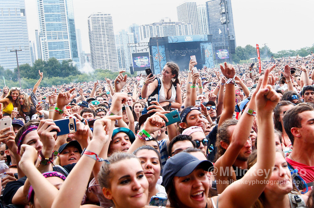 CHICAGO - JUL 29: General atmosphere of day two at Lollapalooza on July 29, 2016 in Chicago, Illinois. (Photo by Michael Hickey/Getty Images)