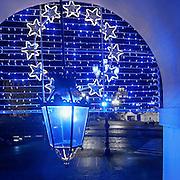Teatro Regio<br /> Torino in blu per la Settimana Europea della Cultura<br /> a Torino(dal 23 al 28 settembre 2014)<br /> i principali monumenti e musei della città illuminati di blu<br /> da Iren Servizi e Innovazione, la Società <br /> del Gruppo Iren che in città gestisce 99.000 punti luce, <br /> alimentati da una rete elettrica di 2.900 chilometri.