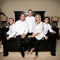27 November 2011:  Ed, Vona, Brett, Blake and Bowen Breunig in Huntington Beach, CA
