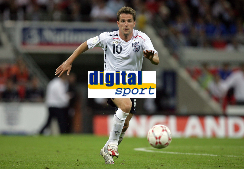 Photo: Rich Eaton.<br /> <br /> England v Russia. UEFA European Championships Qualifying. 12/09/2007. England's Michael Owen