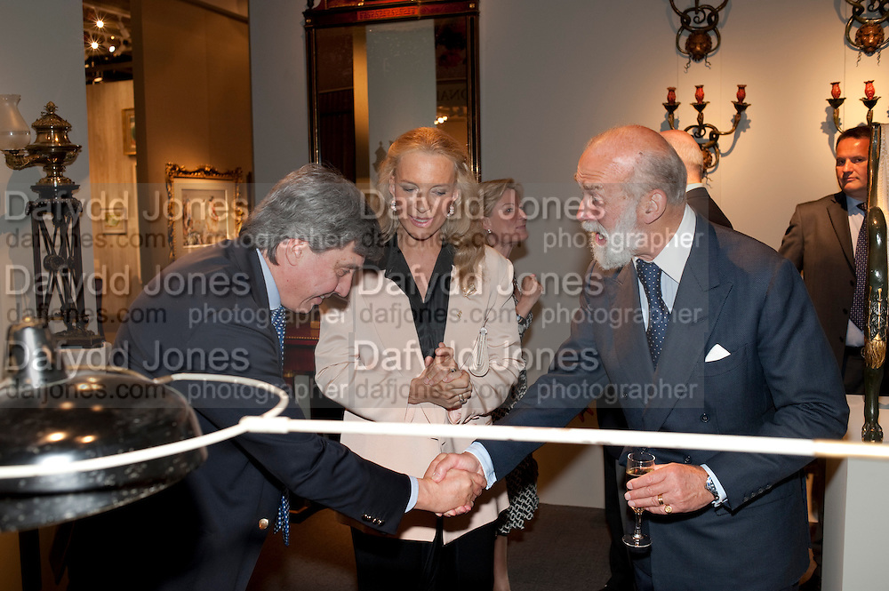 PRINCE MICHAEL OF KENT; PRINCESS MICHAEL OF KENT; ANTOINE CHENEVIERE, , Grosvenor House Antiques Fair Diamond Anniversary Party. Grosvenor House. 15 June 2009