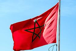 The Moroccan flag<br /> <br /> (c) Andrew Wilson | Edinburgh Elite media