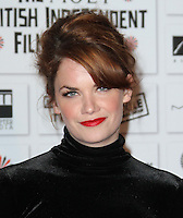 Ruth Wilson The Moet British Independent Film Awards, Old Billingsgate Market, London, UK, 05 December 2010:  Contact: Ian@Piqtured.com +44(0)791 626 2580 (Picture by Richard Goldschmidt)