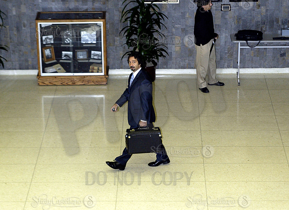Nov 15, 2004; Santa Ana, CA, USA; Attorney JOSEPH CAVALLO arrives at the Santa Ana Superior Court House in Orange County for a bail hearing for 19 year old Greg Haidl, son of former assistant sheriff Don Haidl. Greg Haidl was voluntarily absent from the court hearing due to his exhausted emotional condition and treatment for depression per doctor reccomendation. Legal counsel was denied a continuance on the hearing. Mandatory Credit: Photo by Shelly Castellano/ZUMA Press. (©) Copyright 2004 by Shelly Castellano