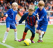 Half time J-League kids games - Dundee United v Hearts, Clydesdale Bank Scottish Premier League at Tannadice Park..© David Young Photo.5 Foundry Place.Monifieth.Angus.DD5 4BB.Tel: 07765252616.email: davidyoungphoto@gmail.com.http://www.davidyoungphoto.co.uk