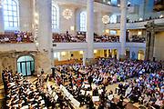Kreuzkirche, Vesper mit Kreuzchor und Orchester, Dresden, Sachsen, Deutschland.|.Kreuzkirche, vespers, Kreuz Chorus, Dresden, Germany
