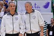 DESCRIZIONE : Beko Legabasket Serie A 2015- 2016 Dinamo Banco di Sardegna Sassari -Vanoli Cremona<br /> GIOCATORE : Saverio Lanzarini Luca Weidmann<br /> CATEGORIA : Arbitro Referee Before Pregame<br /> SQUADRA : AIAP<br /> EVENTO : Beko Legabasket Serie A 2015-2016<br /> GARA : Dinamo Banco di Sardegna Sassari - Vanoli Cremona<br /> DATA : 04/10/2015<br /> SPORT : Pallacanestro <br /> AUTORE : Agenzia Ciamillo-Castoria/L.Canu