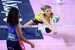 09-12-2017 ITA: Igor Gorgonzola Novara - Imoco Volley Conegliano, Novara<br /> Anna Nicoletti #16 of Conegliano<br /> <br /> *** Netherlands use only ***