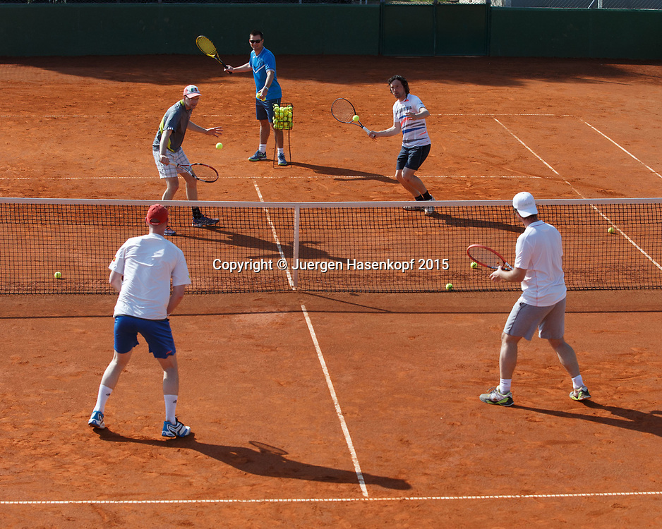 Grand Tours Tenniscamp von Ewald Grandits, Pula, Kroatien<br /> <br /> travel - Grand Tours Tenniscamp -  -   - Pula -  - Croatia  - 9 April 2015. <br /> &copy; Juergen Hasenkopf