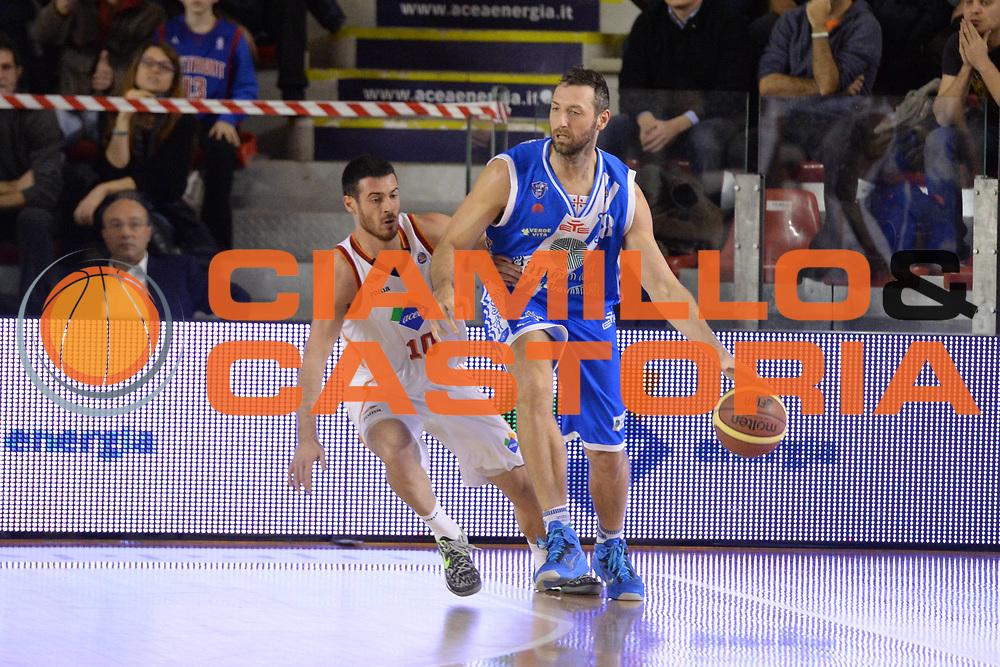 DESCRIZIONE : Campionato 2013/14 Acea Virtus Roma - Dinamo Banco di Sardegna Sassari<br /> GIOCATORE : Manuel Vanuzzo<br /> CATEGORIA : Palleggio<br /> SQUADRA : Dinamo Banco di Sardegna Sassari<br /> EVENTO : LegaBasket Serie A Beko 2013/2014<br /> GARA : Acea Virtus Roma - Dinamo Banco di Sardegna Sassari<br /> DATA : 26/12/2013<br /> SPORT : Pallacanestro <br /> AUTORE : Agenzia Ciamillo-Castoria / GiulioCiamillo<br /> Galleria : LegaBasket Serie A Beko 2013/2014<br /> Fotonotizia : Campionato 2013/14 Acea Virtus Roma - Dinamo Banco di Sardegna Sassari<br /> Predefinita :