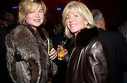 Baroness Isabelle van Randwych and Mrs. Ross Benson, Hot Ice party hosted by Dominique Heriard Dubreuil and Theo Fennell, ( Remy Martin and theo Fennell) at 35 Belgrave Sq. London W1. 26 October 2004. ONE TIME USE ONLY - DO NOT ARCHIVE  © Copyright Photograph by Dafydd Jones 66 Stockwell Park Rd. London SW9 0DA Tel 020 7733 0108 www.dafjones.com