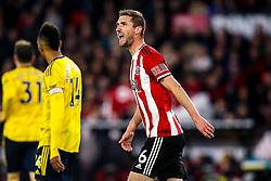 Chris Basham of Sheffield United - Mandatory by-line: Robbie Stephenson/JMP - 21/10/2019 - FOOTBALL - Bramall Lane - Sheffield, England - Sheffield United v Arsenal - Premier League