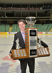 2015-16 CHL Award Winner Mitch Marner at the ENMAX Centrium in Red Deer, Alberta on Saturday May 28, 2016. Photo by Terry Wilson / CHL Images.