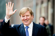 King Willem-Alexander opens Friday January 23, 2015 in Ede Akoesticum, a national training center fo