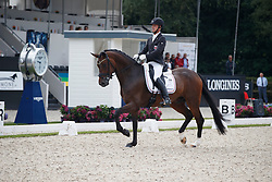 Schulz Sascha, LUX, Quizmaster<br /> Longines FEI/WBFSH World Breeding Dressage Championships for Young Horses - Ermelo 2017<br /> © Hippo Foto - Dirk Caremans<br /> 03/08/2017