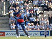 2005 Twenty/20 Cricket England vs Australia, The Rose Bowl, Southampton, Hampshire, ENGLAND 13.06.2005, Marcus Trescothick, plays through  the backwood point..Photo  Peter Spurrier. .email images@intersport-images...