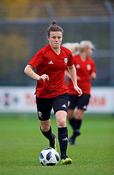 NEWPORT, WALES - Tuesday, November 6, 2018: Wales' Hayley Ladd during a training session at Dragon Park ahead of two games against Portugal. (Pic by Paul Greenwood/Propaganda)