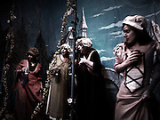 """Actors performing the FAUST at the Amato Opera, New York,  the smallest opera theater of the world ì The beauty of the Opera is still alive at the Amato Opera, which has been staging grand performances for over fifty years.Each season, it provides the community with productions of operatic classics like """"Carmen,"""" """"Aida,"""" and """"The Magic Flute."""".Tony Amato and his late wife, Sally founded the Amato Opera in 1948 with two goals in mind: to perform entertaining opera at a reasonable price; and to give promising singers experience with full-length productions. .After 61 years, the Amato opera is closing on May 31st with the retirement of Tony Amato"""
