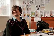 Luz, (Renald Luzier) dessinateur à  Charlie Hebdo, cartoonist at Charlie Hebdo