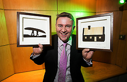 Repro Free: 14/11/2013 Gavin Curran from Malahide one of the founders of Lucky Sods who were crowned winners of the AIB Jump Start 2013 at the LINC (Learning and Innovation Centre) at the Institute of Technology Blanchardstown winning a fantastic business package worth &euro;25,000. Pictured Andres Poveda<br /> <br /> For Further info contact Anne-Marie Sheehan Aspire PR - 0872985569 - annmarie@aspire-pr.com