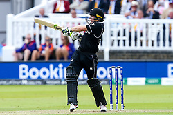 Tom Latham of New Zealand batting - Mandatory by-line: Robbie Stephenson/JMP - 14/07/2019 - CRICKET - Lords - London, England - England v New Zealand - ICC Cricket World Cup 2019 - Final