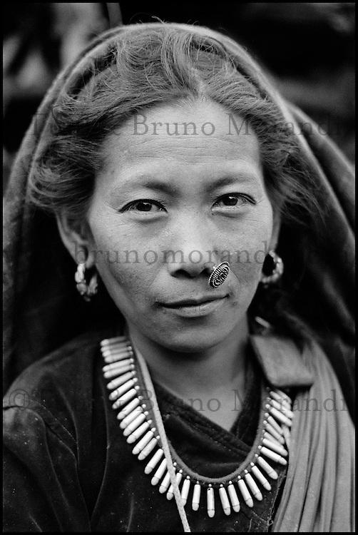 Nepal. Population Gurung. // Nepal. Gurung ethnic group.