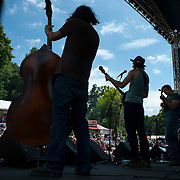 """June 9, 2012 - Vernon, NJ : The band 'Cabinet' performs during the 3rd annual 'Rock, Ribs & Ridges"""" music and food festival in Vernon, NJ on Saturday. CREDIT: Karsten Moran for The New York Times"""