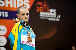 SEMENENKO Iaroslav UKR at 2015 IPC Swimming World Championships -  Men's 100m Backstroke S6