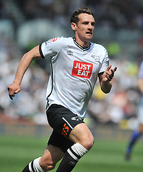 CRAIG BRYSON DERBY COUNTY, Derby County v Ipswich Town Championship, IPro Stadium, Saturday 7th May 2016. Photo:Mike Capps
