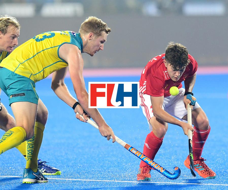 Odisha Men's Hockey World League Final Bhubaneswar 2017<br /> Match id:09<br /> Australia v England<br /> Foto: James Gall (Eng) <br /> WORLDSPORTPICS COPYRIGHT FRANK UIJLENBROEK