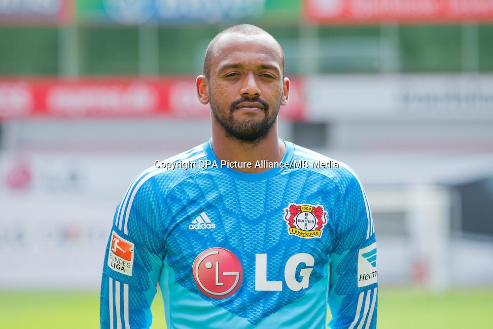 German Soccer Bundesliga - Photocall Bayer 04 Leverkusen on August 4th 2014:  Goalkeeper David Yelldell.