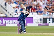 England ODI Captain & Batsman Eoin Morgan with a boundary during the third Royal London One Day International match between England and Australia at Trent Bridge, West Bridgford, United Kingdom on 19 June 2018. Picture by Simon Davies.