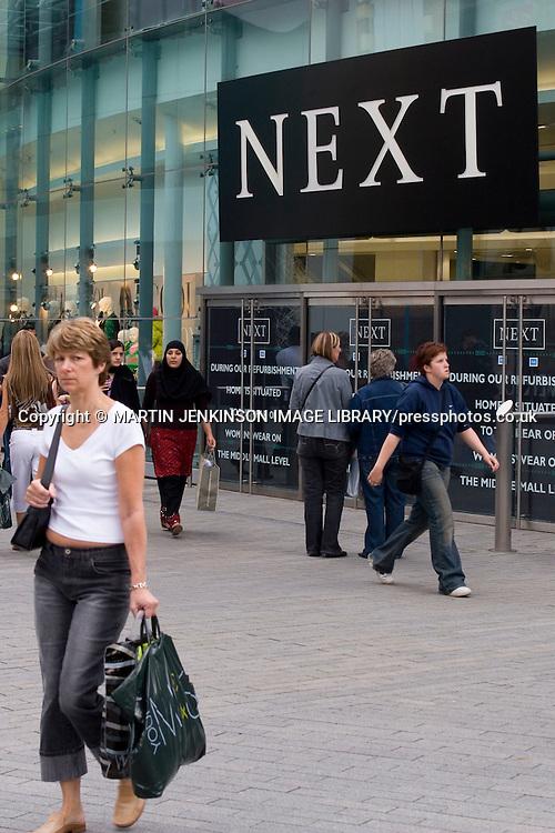 Bullring shopping centre in Birmingham ....