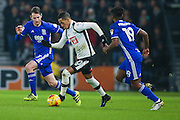 Derby County midfielder Tom Ince (10) has a run with the ball during the EFL Sky Bet Championship match between Derby County and Birmingham City at the iPro Stadium, Derby, England on 27 December 2016. Photo by Simon Davies.