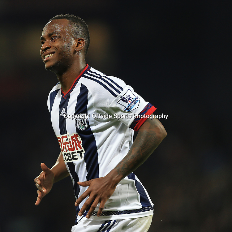 28th September 2015 - Barclays Premier League - West Bromwich Albion v Everton - Saido Berahino of West Brom looks dejected - Photo: Simon Stacpoole / Offside.