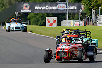 #14 Richard Osgerby Caterham Supersport during the ITC Compliance Caterham Supersport Championship at Oulton Park, Little Budworth, Cheshire, United Kingdom. August 13 2016. World Copyright Peter Taylor/PSP.