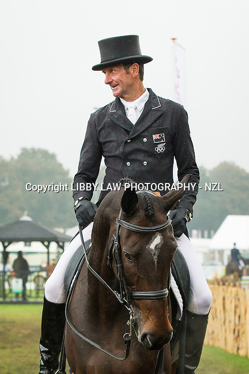 NZL-Sir Mark Todd (UP N GO) INTERIM-75TH: CCIO3* DRESSAGE: 2013 NED-Military Boekelo International Horse Trial (Friday 11 October) CREDIT: Libby Law: COPYRIGHT: LIBBY LAW PHOTOGRAPHY - NZL