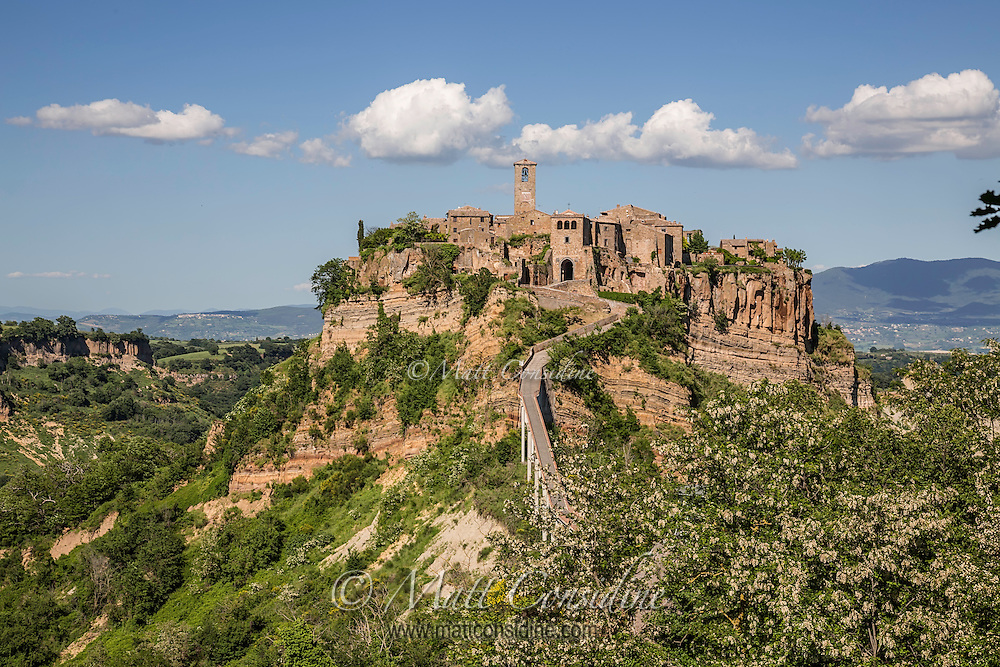 The picturesque hilltop village of Civita de Bagnoregio. (Photo by Travel Photographer Matt Considine)