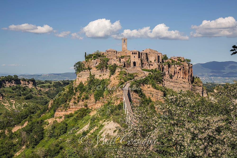 The picturesque hilltop village of Civita de Bagnoregio. (Photo by Travel Photographer Matt Considine)